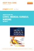Medical-Surgical Nursing - Elsevier eBook on Intel Education Study (Retail Access Card), 9th Edition