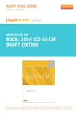 2014 ICD-10-CM Draft Edition - Elsevier eBook on Intel Education Study (Retail Access Card)