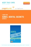 Dental Secrets - Elsevier eBook on VitalSource (Retail Access Card), 4th Edition
