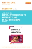 cover image - Introduction to Maternity and Pediatric Nursing - Elsevier eBook on Intel Education Study (Retail Access Card),7th Edition