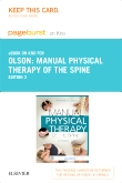 Manual Physical Therapy of the Spine - Elsevier eBook on Intel Education Study (Retail Access Card), 2nd Edition