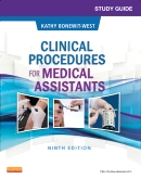 cover image - Study Guide for Clinical Procedures for Medical Assistants - Elsevier eBook on VitalSource,9th Edition