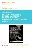 cover image - Wheeler's Dental Anatomy, Physiology and Occlusion - Elsevier eBook on Intel Education Study (Retail Access Card),10th Edition