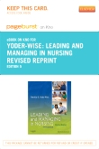 cover image - Leading and Managing in Nursing - Revised Reprint - Elsevier eBook on Intel Education Study (Retail Access Card),5th Edition