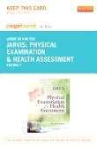 cover image - Physical Examination and Health Assessment - Elsevier eBook on Intel Education Study (Retail Access Card),7th Edition