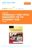 cover image - Front Office Management for the Veterinary Team - Elsevier eBook on VitalSource (Retail Access Card),2nd Edition