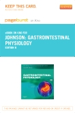 Gastrointestinal Physiology Elsevier eBook on Intel Education Study (Retail Access Card), 8th Edition