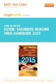 cover image - Saunders Nursing Drug Handbook 2015 - Elsevier eBook on Intel Education Study (Retail Access Card)