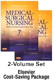 Medical-Surgical Nursing -- Two-Volume Text and Elsevier Adaptive Quizzing Package, 7th Edition