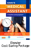 Kinn's The Medical Assistant - Book, Study Guide, Checklist, and SimChart for the Medical Office Package with ICD-10 Supplement, 12th Edition