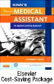 cover image - Kinn's The Administrative Medical Assistant - Text, Study Guide and Medisoft Version 16 Demo CD Package with ICD-10 Supplement,8th Edition