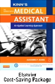 Kinn's The Administrative Medical Assistant - Book, Study Guide, and SimChart for the Medical Office Package with ICD-10 Supplement, 8th Edition