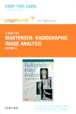 cover image - Radiographic Image Analysis - Elsevier eBook on VitalSource (Retail Access Card),4th Edition