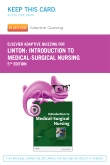 Elsevier Adaptive Quizzing for Introduction to Medical-Surgical Nursing (Retail Access Card), 5th Edition