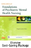 cover image - Varcarolis' Foundations of Psychiatric Mental Health Nursing - Text and Elsevier Adaptive Learning Package,7th Edition