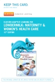 Elsevier Adaptive Learning for Maternity and Women's Health Care (Access Card), 10th Edition