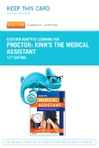Elsevier Adaptive Learning for Kinn's The Medical Assistant (Access Card), 12th Edition
