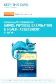 Elsevier Adaptive Learning for Physical Examination and Health Assessment (Access Code), 6th Edition