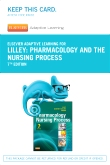Elsevier Adaptive Learning for Pharmacology and the Nursing Process (Access Card), 7th Edition