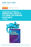 Elsevier Adaptive Learning for Mosby's Textbook for Nursing Assistants (Access Card), 8th Edition