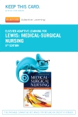 Elsevier Adaptive Learning for Medical-Surgical Nursing (Access Card), 9th Edition