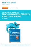 Elsevier Adaptive Learning for Fundamentals Concepts and Skills for Nursing (Access Card), 4th Edition