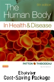 The Human Body in Health & Disease - Text and Elsevier Adaptive Learning Package, 6th Edition
