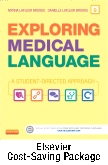 cover image - Exploring Medical Language - Text and Elsevier Adaptive Learning Package,9th Edition