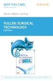 Elsevier Adaptive Learning for Surgical Technology (Access Card), 6th Edition