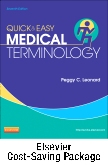cover image - Quick & Easy Medical Terminology - Text and Elsevier Adaptive Learning Package,7th Edition