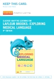 Elsevier Adaptive Learning for Exploring Medical Language (Access Card), 9th Edition
