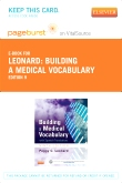 cover image - Building a Medical Vocabulary - Elsevier eBook on VitalSource (Retail Access Card),9th Edition