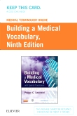 cover image - Medical Terminology Online for Building a Medical Vocabulary (Access Code),9th Edition