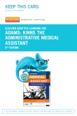Elsevier Adaptive Learning for Kinn's The Administrative Medical Assistant (Access Card), 8th Edition