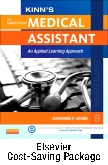 cover image - Kinn's The Administrative Medical Assistant with ICD-10 Supplement  - Text and Elsevier Adaptive Learning Package,8th Edition