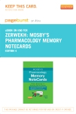 Mosby's Pharmacology Memory NoteCards - Elsevier eBook on Intel Education Study (Retail Access Card), 4th Edition