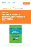 cover image - Mosby's Pharmacology Memory NoteCards - Elsevier eBook on VitalSource (Retail Access Card),4th Edition