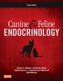 cover image - Canine and Feline Endocrinology - Elsevier eBook on VitalSource,4th Edition