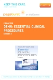 Essential Clinical Procedures Elsevier eBook on VitalSource (Retail Access Card), 3rd Edition