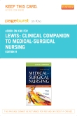 Clinical Companion to Medical-Surgical Nursing - Elsevier eBook on Intel Education Study (Retail Access Card), 9th Edition