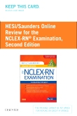 cover image - HESI/Saunders Online Review for the NCLEX-RN Examination (2 Year) (Access Code),2nd Edition