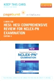 cover image - PART-HESI Comprehensive Review for the NCLEX-PN® Examination - Elsevier eBook on VitalSource (Retail Access Card),4th Edition