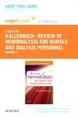 cover image - Review of Hemodialysis for Nurses and Dialysis Personnel- Elsevier eBook on VitalSource (Retail Access Card),9th Edition