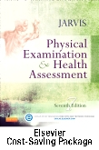 cover image - Physical Examination and Health Assessment and Elsevier Adaptive Quizzing Package,7th Edition