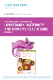 Elsevier Adaptive Quizzing for Lowdermilk Maternity and Women's Health Care (Retail Access Card), 11th Edition