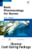 cover image - Basic Pharmacology for Nurses and Elsevier Adaptive Quizzing Package,17th Edition