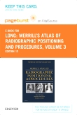 cover image - Merrill's Atlas of Radiographic Positioning and Procedures - Elsevier eBook on VitalSource (Retail Access Card),13th Edition