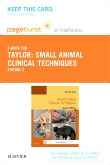 cover image - Small Animal Clinical Techniques - Elsevier eBook on VitalSource (Retail Access Card),2nd Edition