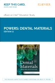 Dental Materials - Elsevier eBook on Intel Education Study (Retail Access Card), 11th Edition