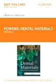 cover image - Dental Materials - Elsevier eBook on VitalSource (Retail Access Card),11th Edition